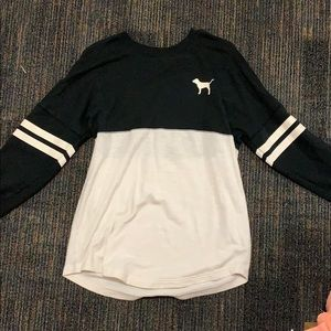 Small pink jersey sweatshirt